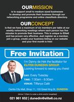 Elite6 Business Networking - Dunedin