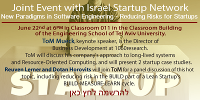 Joint Event with Israel Startup Network 22.06.15