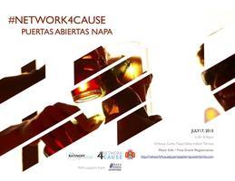 #Network4Cause Napa Benefiting Puertas Abiertas