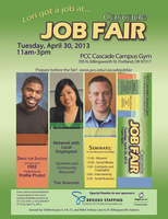 Cascade Job Fair 2013