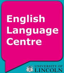 English Language Centre at the University of Lincoln logo