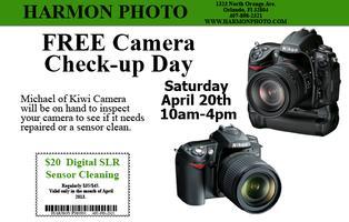 Free Camera Check-up Day