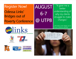 Odessa Links' Bridges Out of Poverty Conference 2015