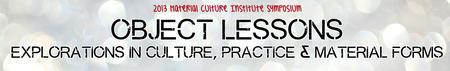 Material Culture Symposium