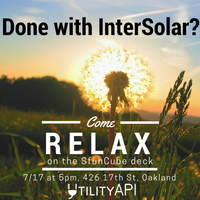 Relax after InterSolar