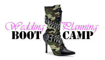 Wedding Planning Bootcamp - Spring 2013