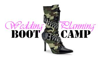 Wedding Planning Bootcamp - Spring 2013