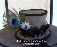 Mad Hatter Fascinator Hat