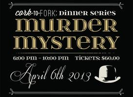 Murder Mystery Night At The Garlic Poet Restaurant & Bar
