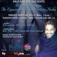 MuzArt, LLC Presents Melodic Memories: An Evening with...