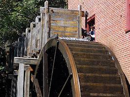 Big Wheels at Colvin Run Mill