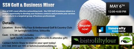 SSN GOLF &  BUSINESS MIXER