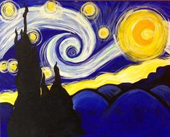 Starry Night @ 10 AM - Sold Out