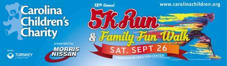 12th Annual Carolina Children's Charity 5K Run /...