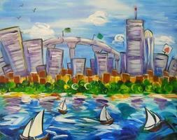 Boston Daytime Skyline @ 10 AM - Sold Out