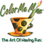 Color Me Mine Menlo Park  logo