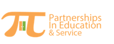 Partnerships in Education and Service logo