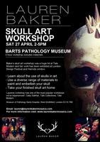 Lauren Baker Skull Art Workshop