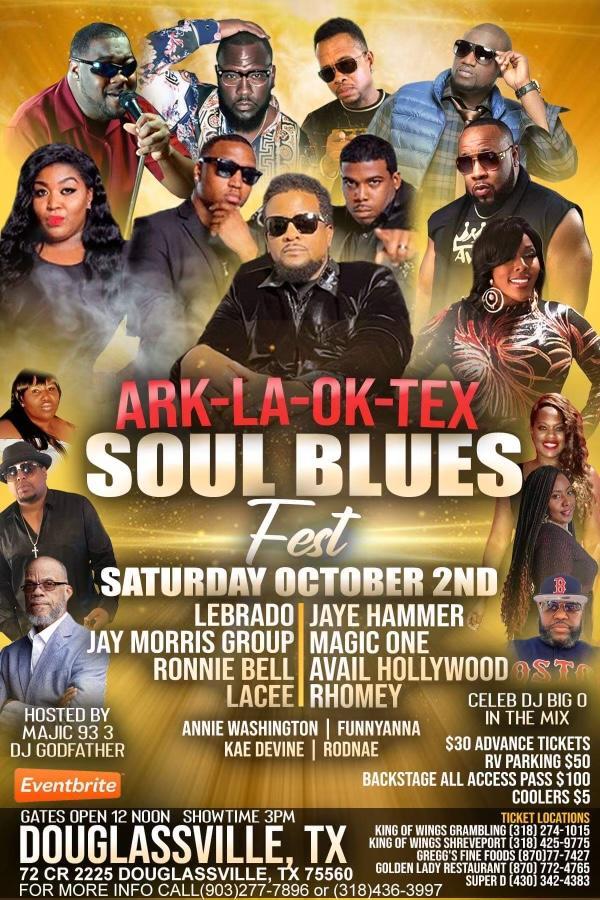 ArkLaOkTex Soul Blues Fest