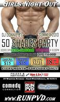 "DONNIE B's ""50 SHADES"" GIRLS NIGHT OUT starring MEN IN MOTION"