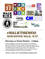 Worcester Walk - #WalkTheWoo