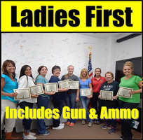 """July 19 Sunday """"LADIES FIRST"""" HANDGUN FUNDAMENTALS..."""