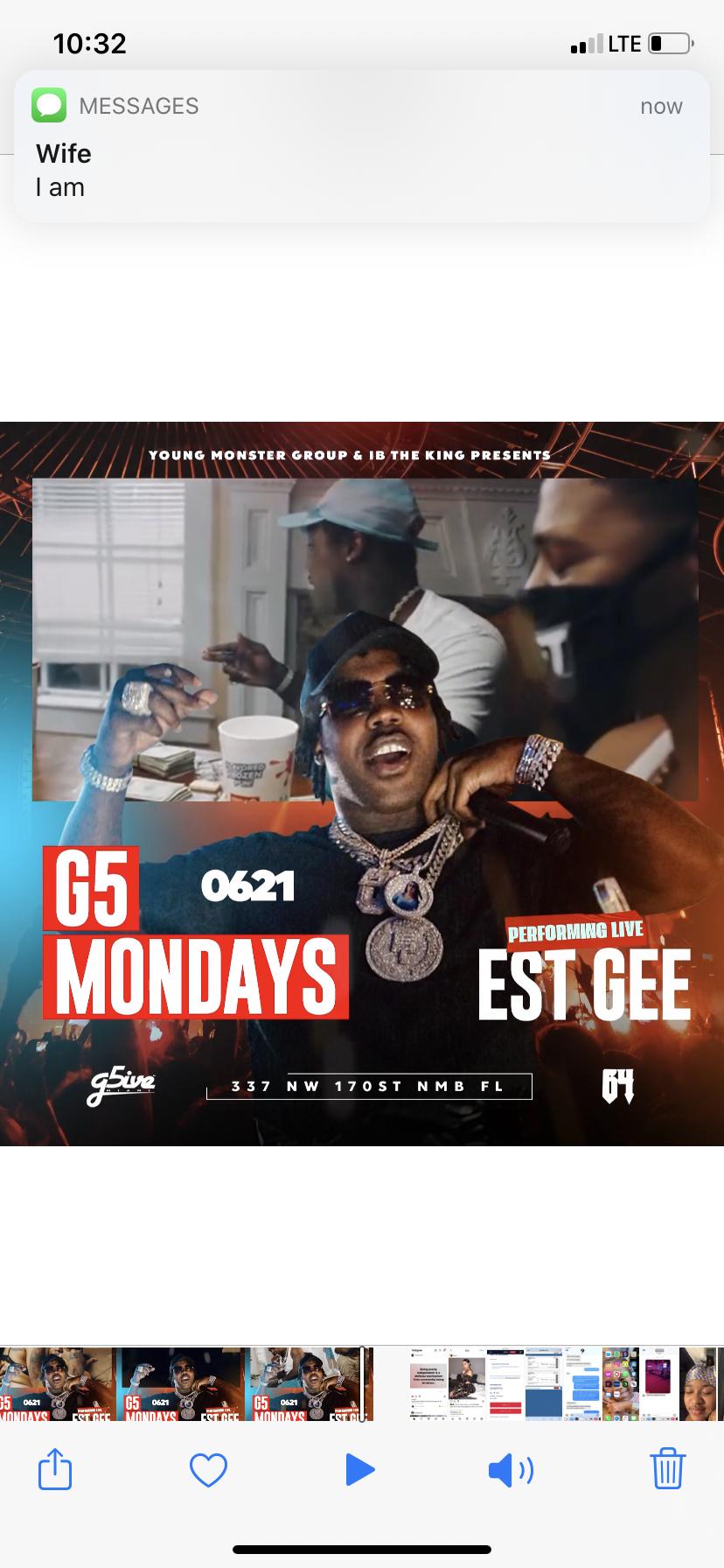 Est Gee Performing Live @ G5 Miami