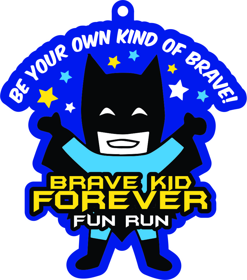 2021 Brave Kid Forever 1/2 M 1M 5K 10K -Participate from Home. Save $3