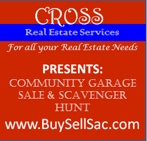 Southwest Elk Grove Community Garage Sale & Scavenger Hunt
