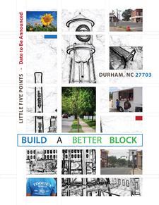 Build A Better Block, Durham (B3) logo