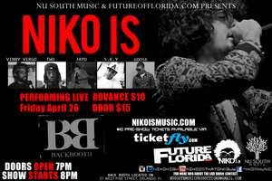 NIKO IS Live @ Backbooth