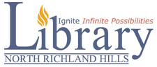 North Richland Hills, Texas Public Library logo