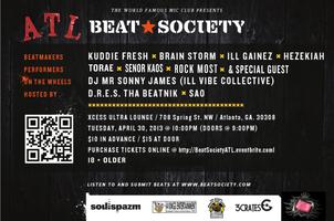 The WORLD FAMOUS MIC CLUB presents BEAT SOCIETY ATL