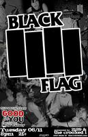BLACK FLAG wsg/ GOOD FOR YOU featuring Mike Vallely