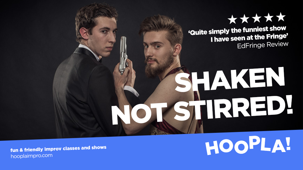 HOOPLA: Shaken not Stirred!