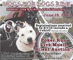 Hogs for Dogs Motorcycle Benefit