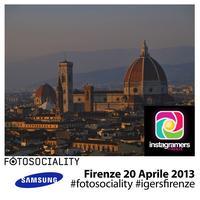 Instawalk #FOTOSOCIALITY a Firenze + aperitivo