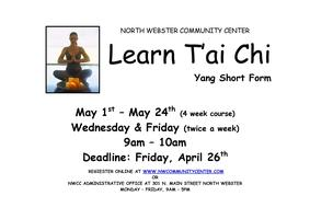 T'ai Chi WEDNESDAYS and FRIDAYS 9am-10am