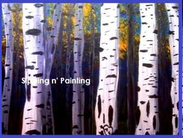 Sip N' Paint Mon May 20th Aspens 6pm $40 Fundraiser...
