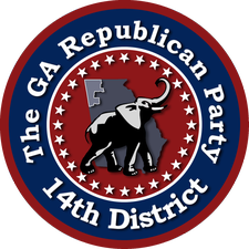 Georgia Republican Party 14th District logo
