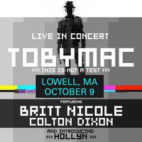 TOBYMAC - Lowell, Massachusetts - October 9