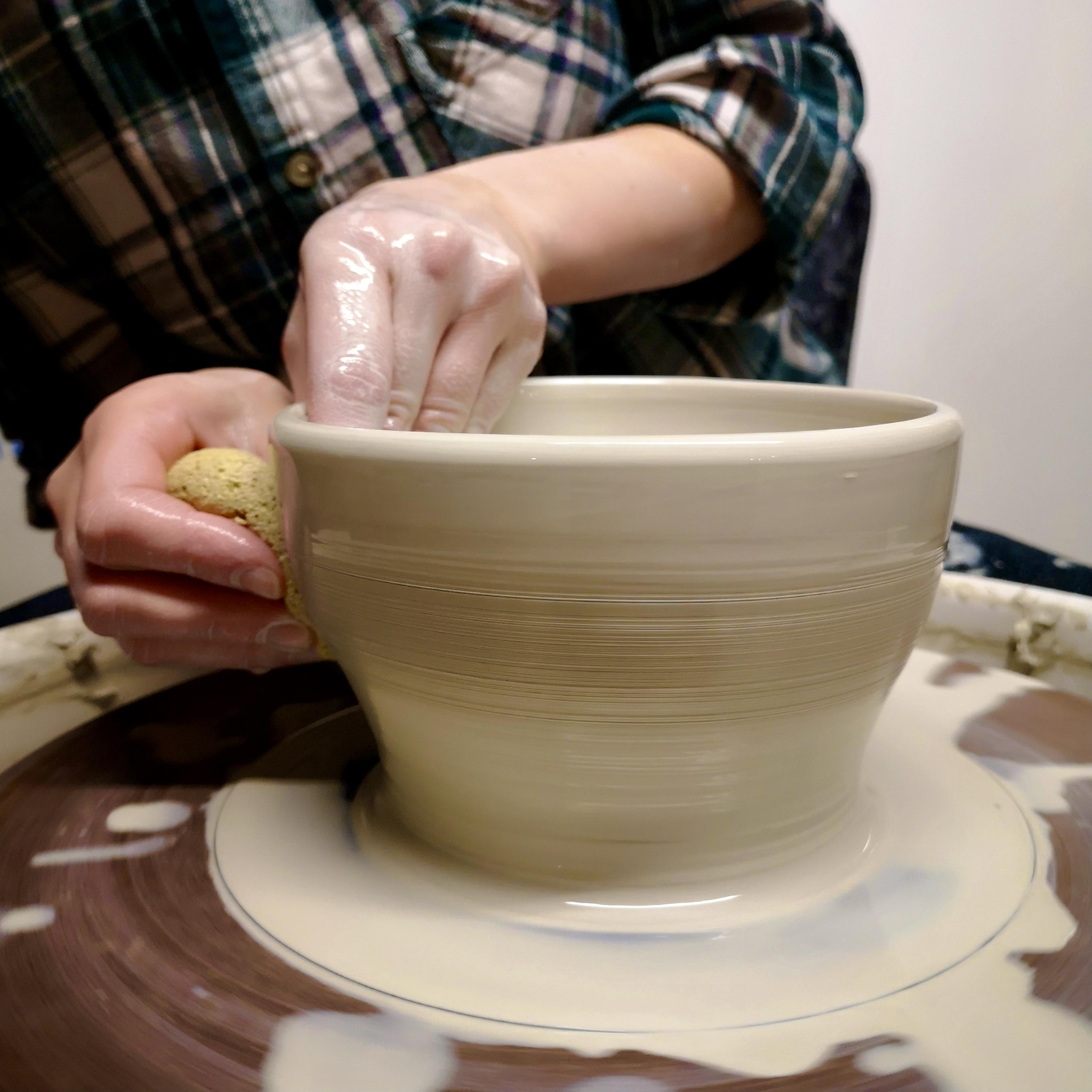Pottery Wheel Throwing Level 2