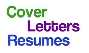 Developing The Tools - Resumes and Cover Letters