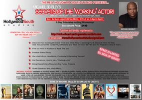 "Michael Beasley's --""The Secrets of The Working Actor""..."