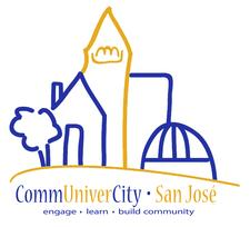 Elizabeth Figueroa, CommUniverCity San Jose logo