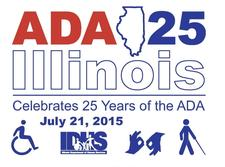 DHS & The ADA Celebration Committee  logo
