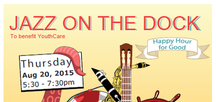 Jazz on the Dock Happy Hour - to benefit YouthCare