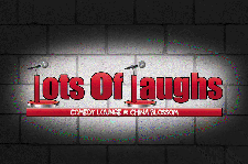 Lots Of Laughs Comedy Lounge (at China Blossom) logo