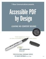 Accessible PDF by Design: WCAG 2.0, with David Berman
