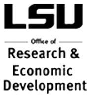 LSU Office of Research & Economic Development logo